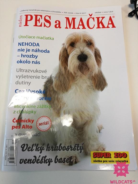 magazín Pes a mačka