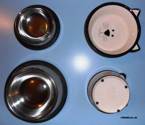 Protišmykové misky vhodné pre mačky