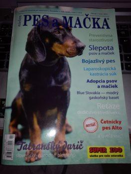 Nové číslo magazínu Pes a mačka už vyšlo