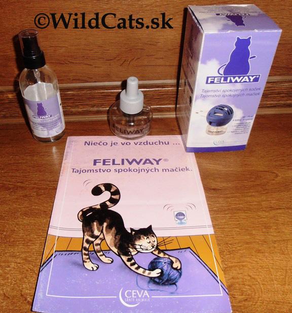 Feliway – umelé mačacie feromóny