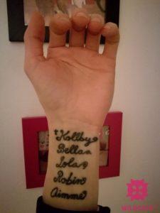 mačky tetovanie mená