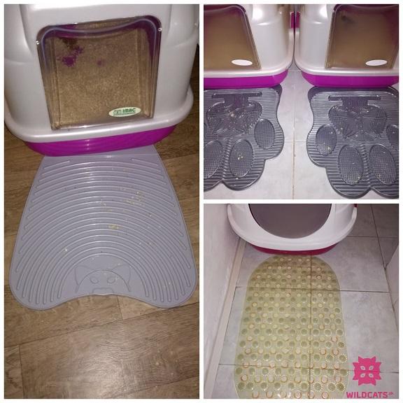 BlackHole Litter Mat for cats