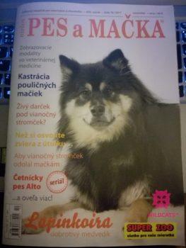 Nové číslo magazínu Pes a mačka už dorazilo aj do Prahy