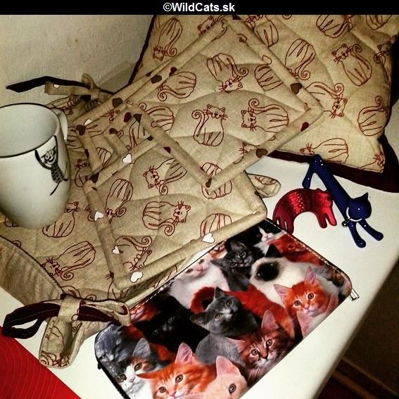 Batohy a tašky s mačacími vzormi